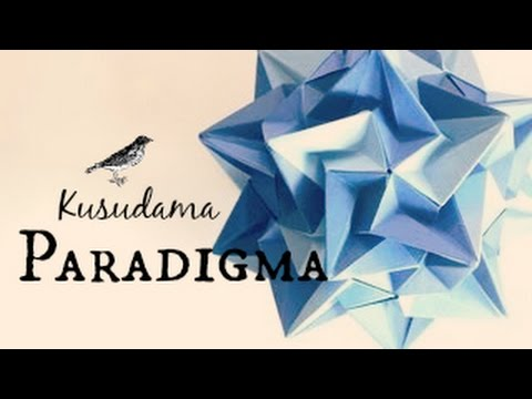 Origami ball / Kusudama Paradigma (Ekaterina Lukasheva)