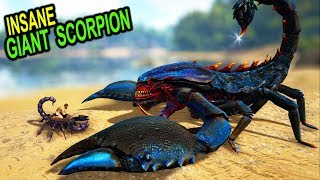 Download 🦂ARK THIS GIANT SCORPION CUTS EVERYTHING!! Ark Survival Evolved Pyria Mythos Evolved Mod Update Video