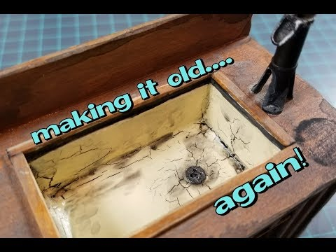 LS #5: Aging all the miniatures... even the Kitchen Sink
