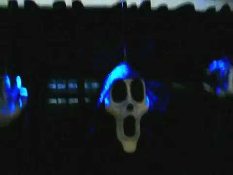 Spooky Ghost Halloween Prop Decoration Floating Up And Down