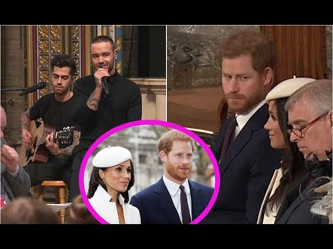 Did Prince Harry Get Caught Raising His Eyebrows to Meghan Markle After Liam Payne's Performance?
