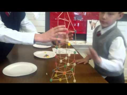 SORE TO BE WORLDS BIGGEST GUMDROP AND TOOTHPICK TOWER AND BUILDINGS SHOWN HOW TO MAKE IT