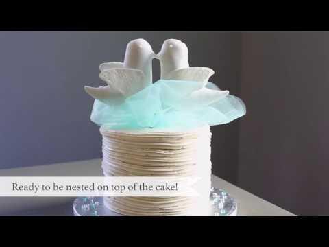DIY LoveBirds CakeTopper