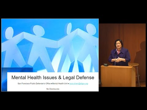 Mental Health Issues, Legal Defense and Developmental Disabilities