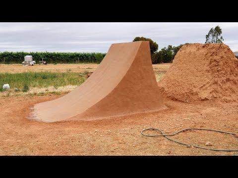 Rebuilding a Dirt Jump Time-lapse