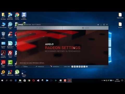 How do I get better performance on AMD Radeon Settings