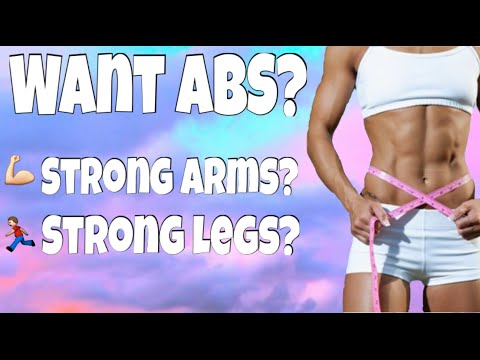 Get abs fast! Gymnastics strength and conditioning exercises