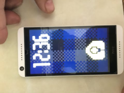 HTC 626 Screen View or Dot View Problem Solved