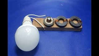 Free Energy Light Bulbs  Using Magnet