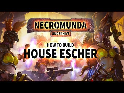 Necromunda: How to build House Escher.