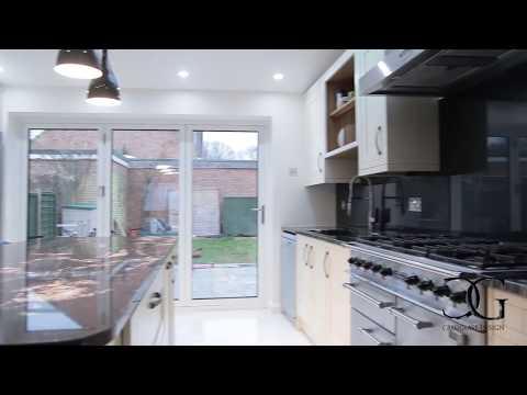 The Longest Glass Kitchen Splashback in the UK - CreoGlass