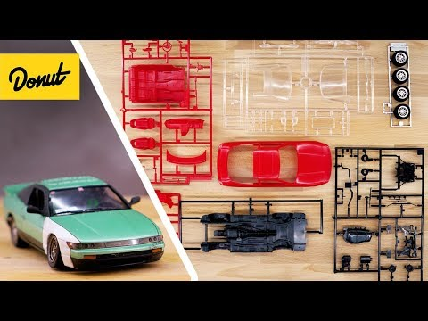 Nissan 240SX Sileighty Drift Missile Model Car | Built to Scale | Donut Media