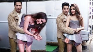 Varun Dhawan and Shraddha Kapoor Funny Moments on Dance Plus 5 Set | Street Dancer 3d Promotion