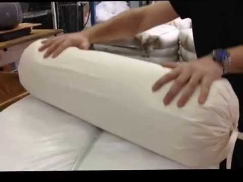 hometex yoga bolster cover and  insert