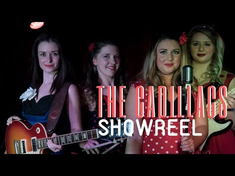 The Cadillacs // Female 1950's Band For Hire // Book Now at Warble Entertainment