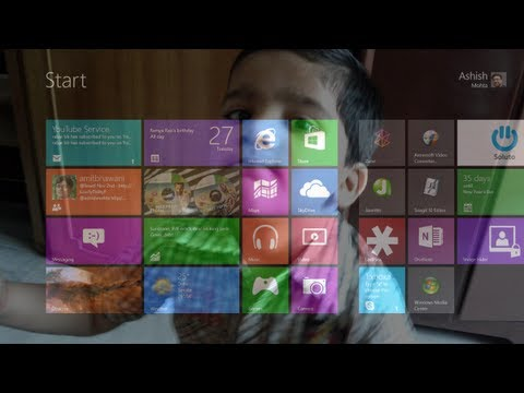 Change Windows 8 Start Screen Background