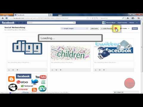 How to Delete a photo Album on Facebook - 2012 Updated