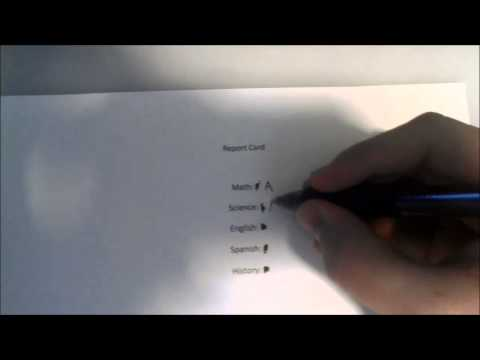 How to change your grades on Report Card
