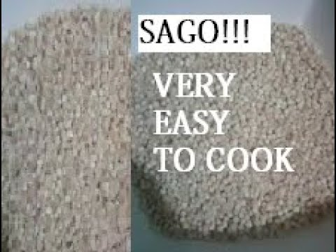 How to cook small SAGO perfectly