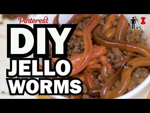 DIY Jello Worms, Corinne VS Pin #3