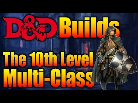 10th Level Multi-Class Character Concepts |5e D&D Character Class Builds