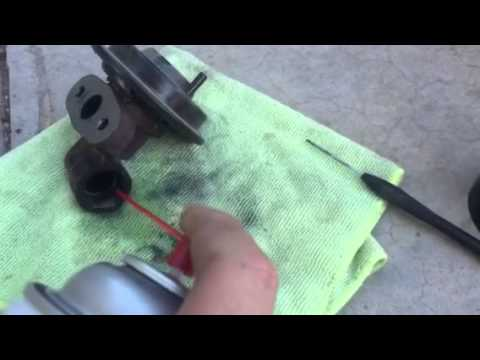 How to clean a crown Vic EGR or replace one