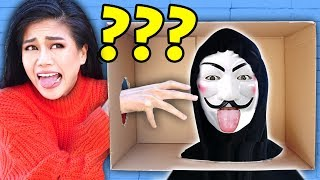 WHAT'S IN THE BOX Challenge - Try Not to Flinch and Face Your Fears for 24 Hours to Go Under Hatch