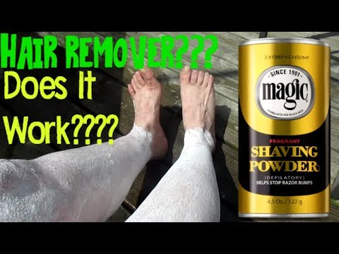 Magic Shave Powder:  Does It Really Work???