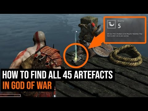 How To Find All 45 Artefacts In God of War