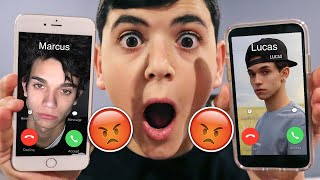 DO NOT CALL CALL LUCAS AND MARCUS AT THE SAME TIME!! (THEY HAD A HUGE ARGUMENT!)