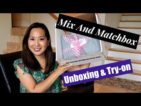 Mix and Matchbox | Unboxing & Try-on | All Dresses! | June 2018