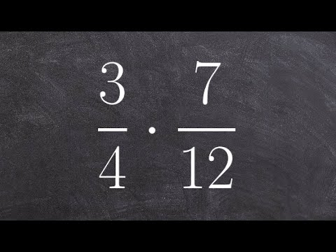Learn how to determine the product of two fractions with unlike denominators