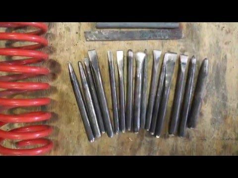 Coil Spring Preperation