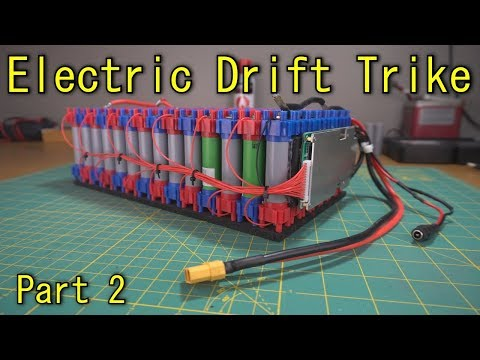 Homemade Electric Drift Trike - Part 2 (the Battery)