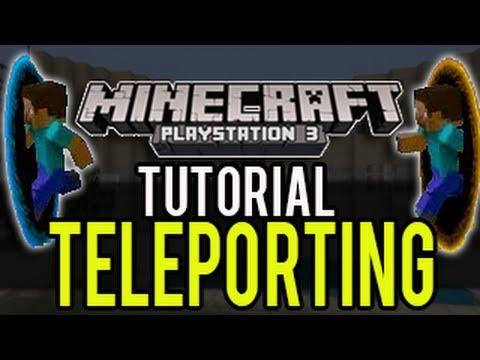 Minecraft Playstation - How To Teleport (Tutorial) - Update 1.04 (TU14) PS3, PS4, PSVita