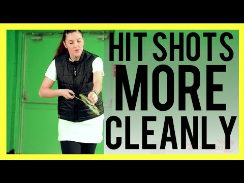 HIT SHOTS MORE CLEANLY - Badminton Tips from a 2x Olympian Pro Player   Better Badminton