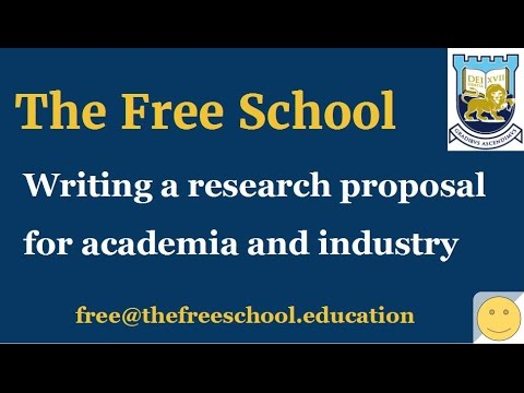 PhD research proposal for thesis and industry research