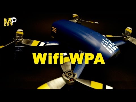 How to secure your Parrot Bebop Wifi with WPA password