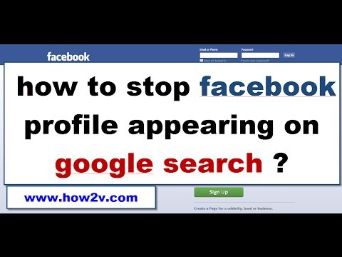 how to stop your facebook profile appearing in google search 2014