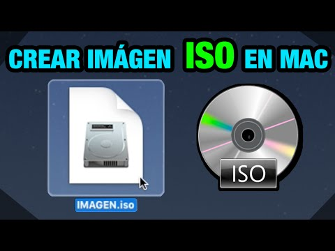 MAC OSX  | Crear una imagen ISO de un CD/DVD