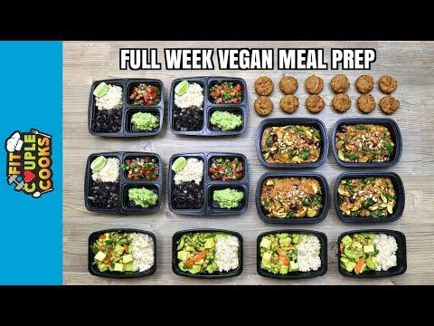 FULL WEEK VEGAN MEAL PREP ($6/Day) How to Meal Prep - Ep. 71