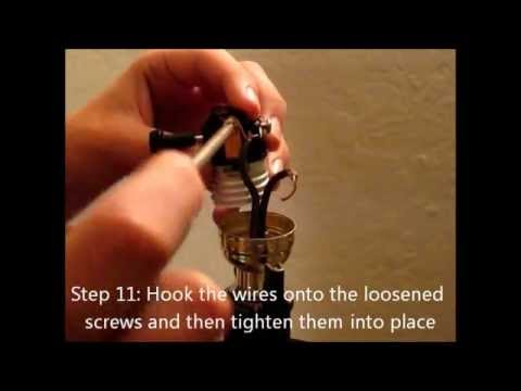 How-To Replace a Lamp Light Switch
