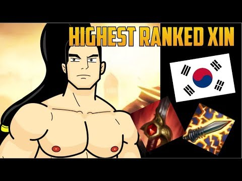 NEW KOREAN BUILD HIGHEST RANKED XIN ZHAO MAIN BUILD GUIDE-