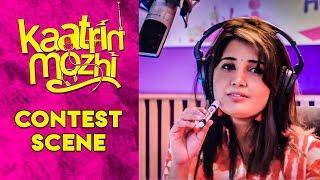 Download Kaatrin Mozhi - Contest Scene   Jyothika   Vidharth   Lakshmi Manchu Video