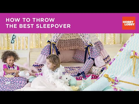 Life of the Party-- Sleepover Inspiration