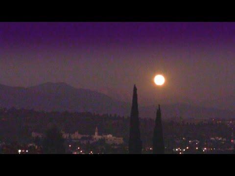Full Moon Rising ★ Compilation (California sky at night)