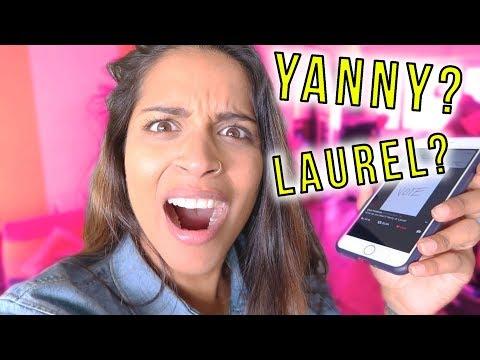 DO I HEAR YANNY OR LAUREL?!