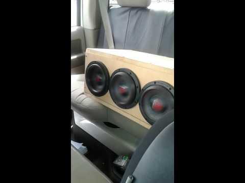 4 massive audio 6.5 subs