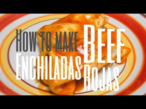 Beef Enchiladas Recipe - How to Make Beef Enchiladas