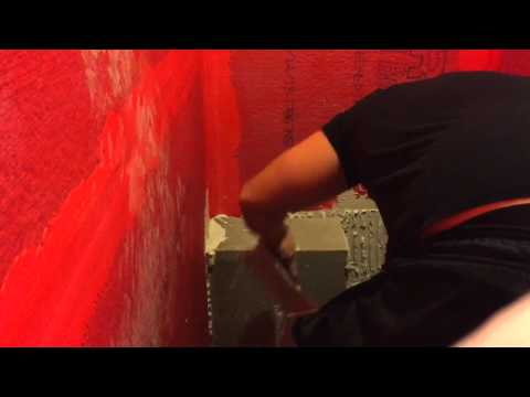 Shower a Remodel (Video 9): Build a Shower Bench out of cinder blocks